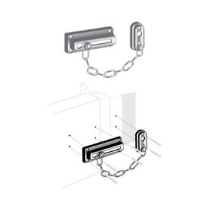 """Door Guard - Chain 3-5/8"""" - EDL-110"""