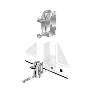 Patio Door Lock - Keyed Lever - EPL-105