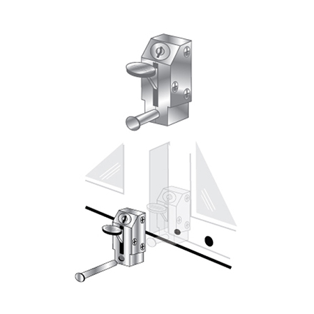 patio door lock keyed lever pro lok
