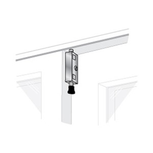 Patio Door Lock - Keyed Lg Rectangle - EPL-106