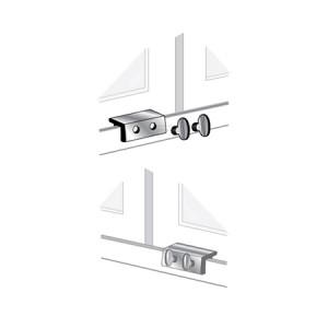 Double Wing Nut Window Lock