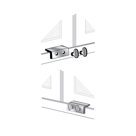 Window Lock Double Wing Nut Pro Lok