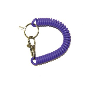 Trigger Snap Coil Key Chain