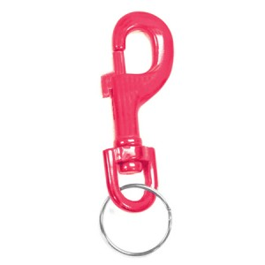 Anodized Snap Clip Key Chain