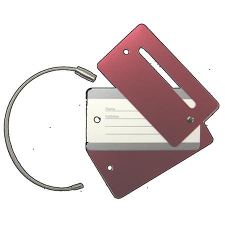 Metal Luggage Tag Pro Lok