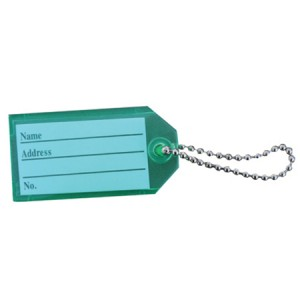 Key Tag with Chain