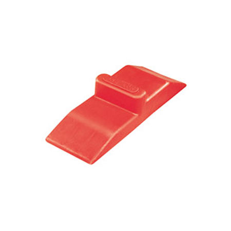 Red Plastic Wedge Pro Lok