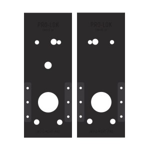 Schalge CO Mortise Installation Template Set - IN510-MORT-PRO