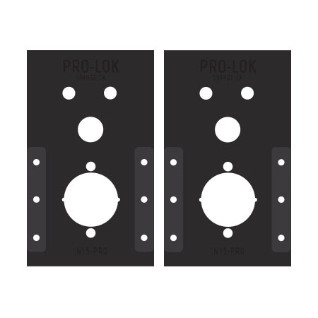 Alarm Lock Trilogy Installation Template Set - IN15-PRO