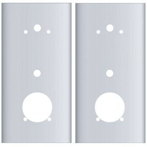 EWP-IN650-FP: Kaba E-Plex 5000 Series Cylindrical Flat Plates